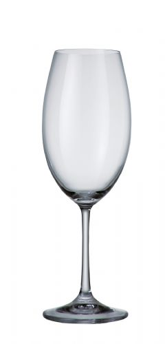 2 Crystal Wine Glasses 510 ml Barbara